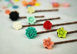 flower hair pins how to make the cutest diy hairpins