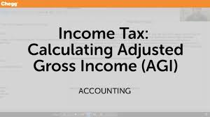 income tax calculating adjusted gross income agi accounting