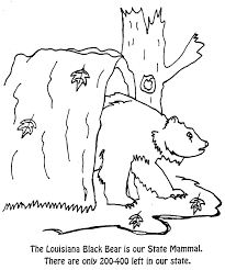 mammals coloring pages office of the governor kathleen babineaux blanco state of