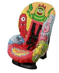 amazon yo gabba gabba car seat cover discontinued