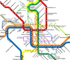 the metro map the new circulators and the metro map greater greater washington