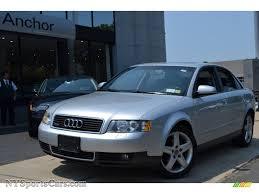 audi a4 2004 silver 2004 audi a4 1 8t quattro sedan in light silver metallic 082570