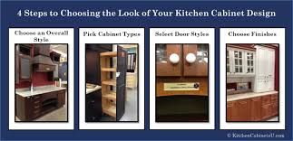kitchen cabinets design create a beautiful kitchen in 4 easy steps