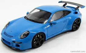ruf porsche gt spirit gt113 scale 1 18 porsche 911 991 ruf rtr 2015 light blue