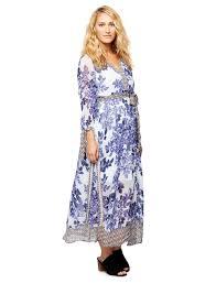 pretty floral print maternity dress a pea in the pod maternity