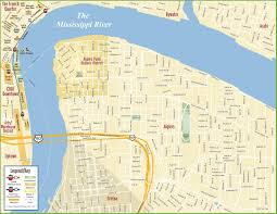 New Orleans Maps by New Orleans Algiers Map