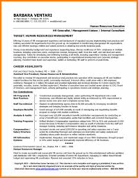 Human Resource Resume Sample by 12 Examples Of Human Resources Resumes Resume Reference