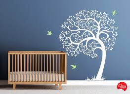Wall Tree Decals For Nursery Wall Decal Stunning White Tree Wall Decal For Nursery White Tree
