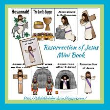 bible fun for kids the resurrection of jesus
