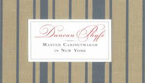 Cabinet Maker Skills Duncan Phyfe A Master Cabinetmaker In New York Theo