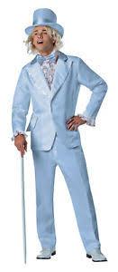 80s prom men dumb and dumber harry tuxedo costume baby blue prom tux
