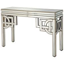 mirrored dining room table mirrored console table top design