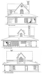 Vacation Cottage House Plans by Cottage House Plans E Architectural Design Page 6