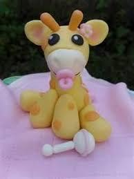 personalized giraffe baby shower birthday cake topper childrens