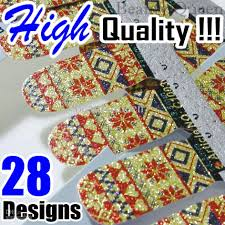 wholesale high quality 2013 newest shiny nail wraps decal nail