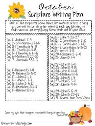 a heart of thanksgiving scripture sweet blessings october scripture writing plan 2016