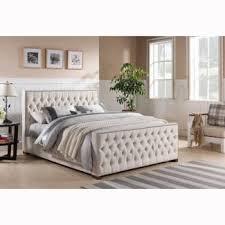 Bed Frame Australia Brand New Beige Fabric Bed Frame Size King Royal