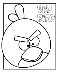 angry bird coloring pages kids free printable coloring
