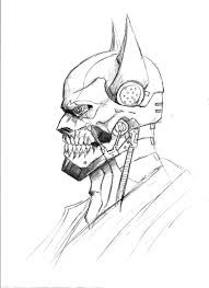 cyborg batman darkmatteria deviantart