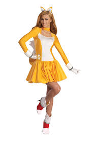 Crusher Halloween Costume Amazon Rubie U0027s Costume Sonic Hedgehog Tails Dress