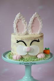 Decorated Easter Bunny Cakes by Easter Bunny Cake Cakecentral Com