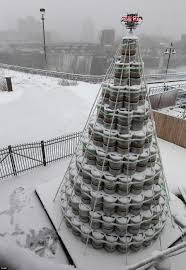 tree made from 300 kegs is an ale lover s