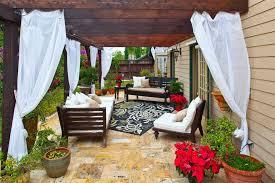 Sunbrella Patio Curtains Popular Of Outdoor Patio Curtain Ideas 1000 Ideas About Outdoor