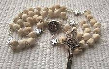 medjugorje rosary st benedict rosary handmade of rock unique rosaries from