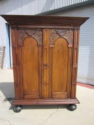 dutch antique armoire wardrobe linen press antique furniture
