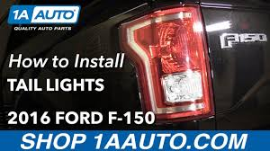 2016 f350 tail lights how to install replace tail lights and bulbs 2015 16 ford f 150