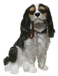 cavalier king charles spaniel ornament walkies range of