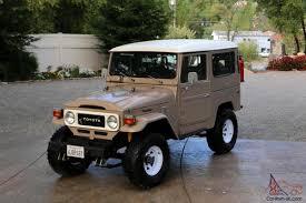 classic toyota rock crawler stock classic land cruiser