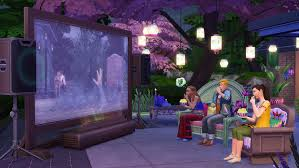 amazon com the sims 4 movie hangout stuff online game code