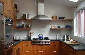 Wood Kitchen Shelves by The Awesome Of Wall Mounted Kitchen Shelves Ideas U2014 Home Design Lover