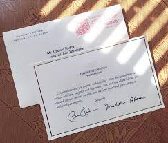 wedding wishes letter to friend a invited the obamas to their wedding and got this awesome