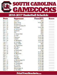 gamecock coloring pages printable south carolina gamecocks 2017 2018 basketball schedule