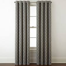 home expressions pasadena embroidery blackout grommet top curtain