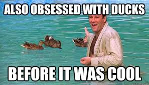 Tony Soprano Memes - also obsessed with ducks before it was cool hipster tony soprano