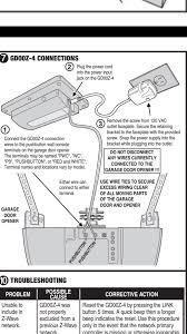 Link Garage Door Opener Parts by Craftsman 1 2 Garage Door Opener With Gocontrol Question Album