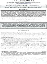 sample project manager resume healthcare supply chain executive