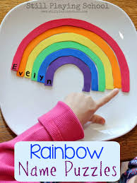 rainbow fine motor ideas still playing