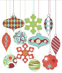 vintage christmas ornaments clipart clip art library