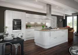 glossy white kitchen cabinets gloss white units grey worktops dream kitchen pinterest norma budden
