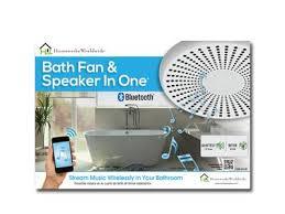 bath fan and speaker in one innovation at werk homewerks worldwide
