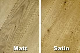wood flooring what is the difference between a satin and a