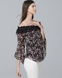 blouse dress tops all whbm