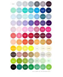 color palettes u2013 decopompoms party decoration boutique
