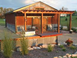 modern elegant design of the pole barn interior ideas that has