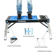stanley folding work table foldable workbench home workshop with vise master stanley folding