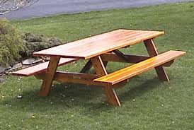 Make Outdoor Picnic Table by 8 Foot Picnic Table Plans Furniture Ideas Pinterest Picnic